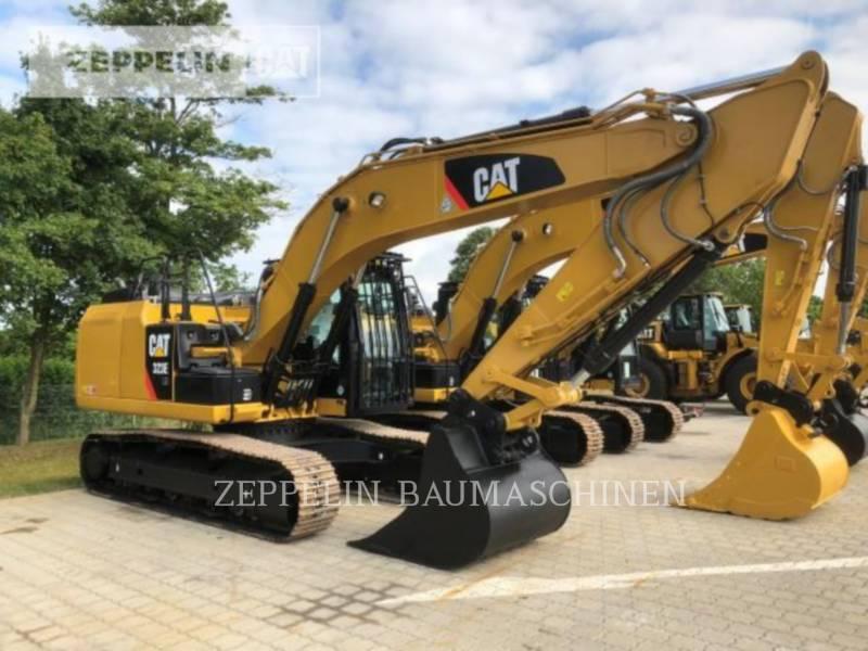 CATERPILLAR KETTEN-HYDRAULIKBAGGER 323ELN equipment  photo 1