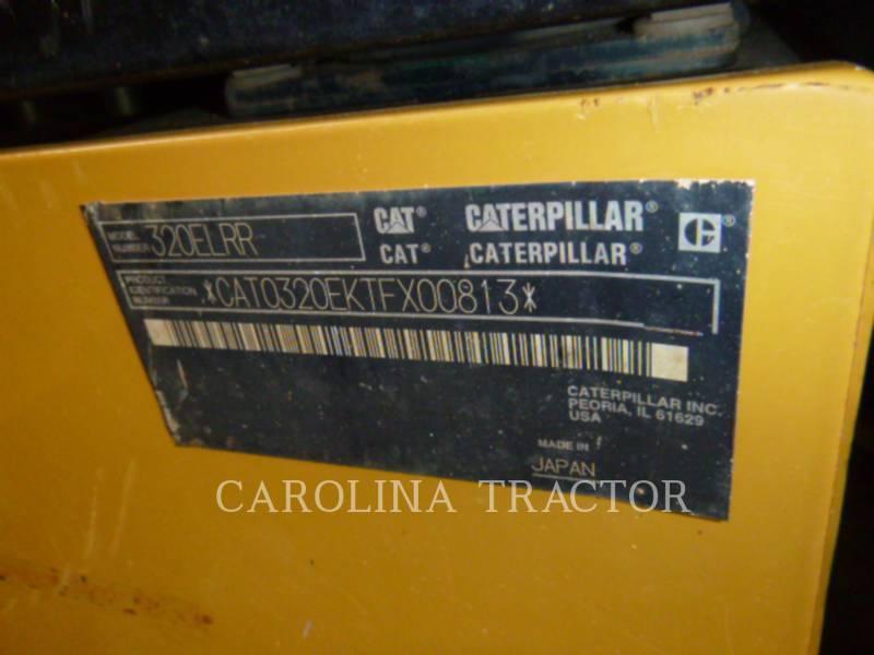 CATERPILLAR RUPSGRAAFMACHINES 320ELRR equipment  photo 8