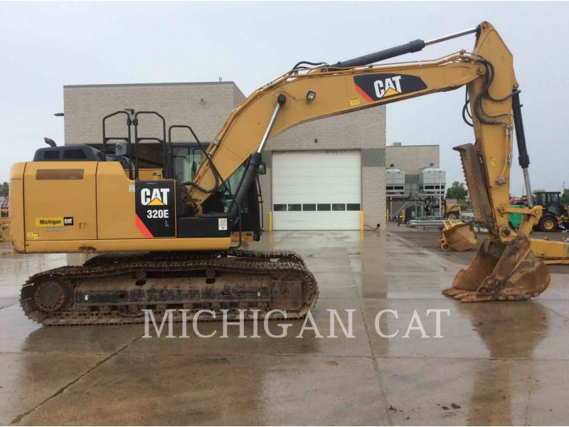 CATERPILLAR KETTEN-HYDRAULIKBAGGER 320EL equipment  photo 8