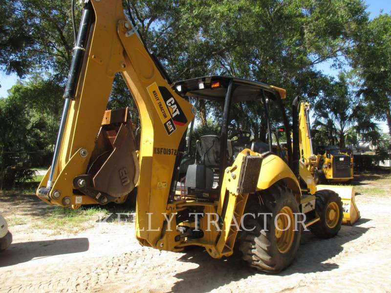 CATERPILLAR BAGGERLADER 416FST equipment  photo 3