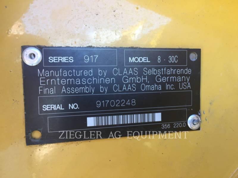 LEXION COMBINE Części żniwne kombajnu zbożowego 8-30C equipment  photo 1