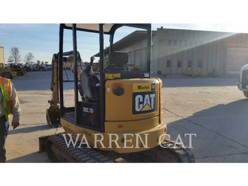CATERPILLAR ESCAVADEIRAS 302.7D equipment  photo 9