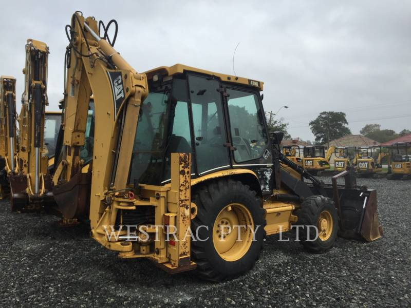 CATERPILLAR TERNE 428D equipment  photo 3