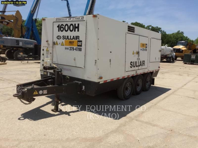 SULLAIR AIR COMPRESSOR (OBS) 1600HAFDTQ equipment  photo 2