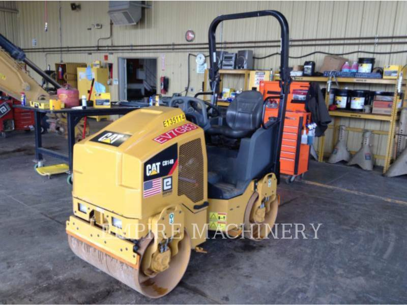 CATERPILLAR TAMBOR DOBLE VIBRATORIO ASFALTO CB14B equipment  photo 4