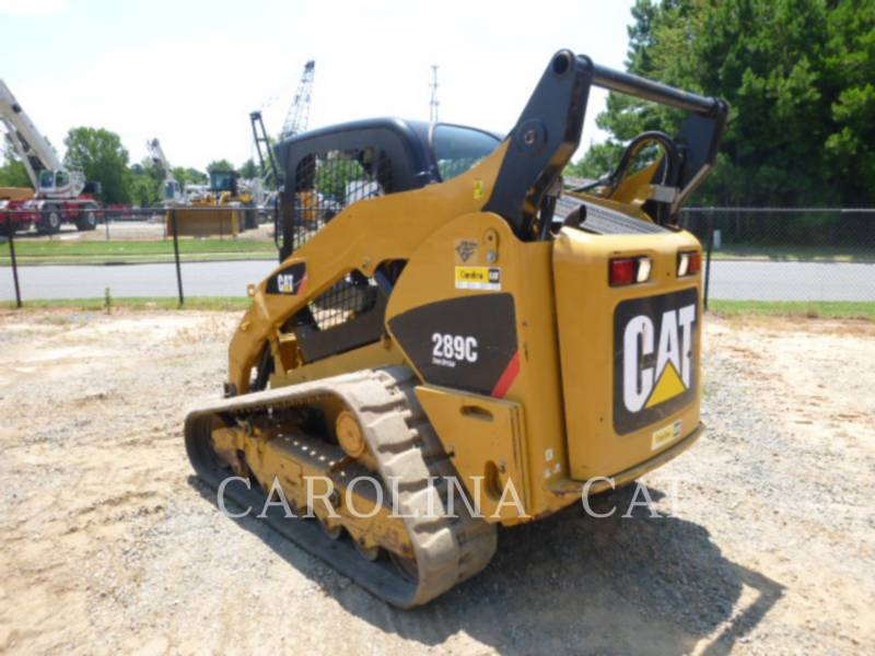 CATERPILLAR CARGADORES DE CADENAS 289C equipment  photo 5