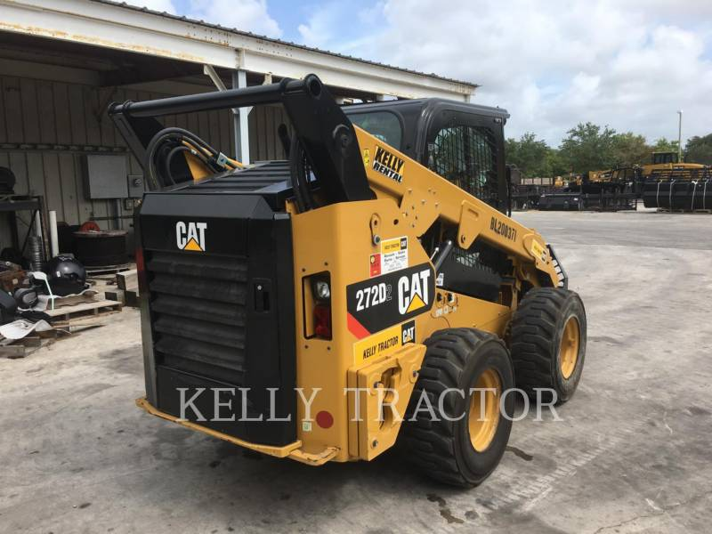 CATERPILLAR CHARGEURS COMPACTS RIGIDES 272D2 equipment  photo 5