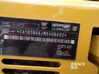 CATERPILLAR EXCAVADORAS DE CADENAS 304E2 equipment  photo 12
