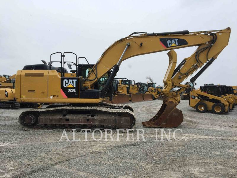CATERPILLAR TRACK EXCAVATORS 329EL TH equipment  photo 6