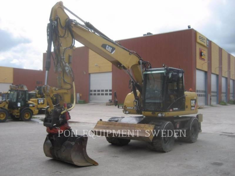 CATERPILLAR EXCAVADORAS DE RUEDAS M 313 D equipment  photo 2