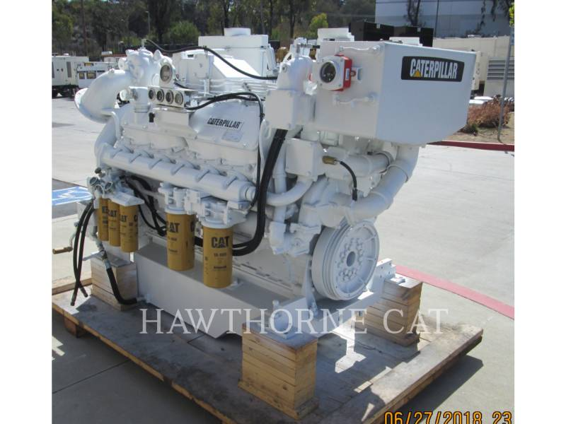CATERPILLAR MARINE PROPULSION / AUXILIARY ENGINES 3412 DITA equipment  photo 8