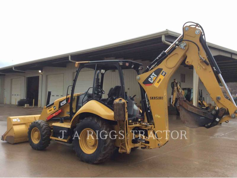 CATERPILLAR CHARGEUSES-PELLETEUSES 420F 4H equipment  photo 4