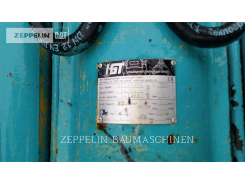 HYDRAULIK-GREIFER-TECHNOLOGIE-GMBH NARZ. ROB. - CHWYTAK ZZ4 Greifer equipment  photo 4