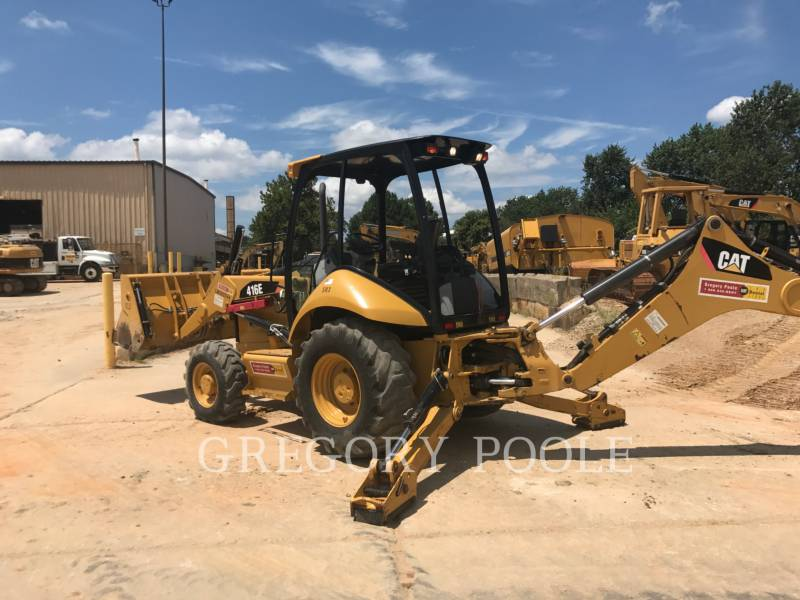 CATERPILLAR BACKHOE LOADERS 416E/4MT equipment  photo 10