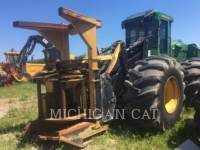JOHN DEERE FORESTRY - FELLER BUNCHERS - WHEEL 843J WFELLER equipment  photo 4