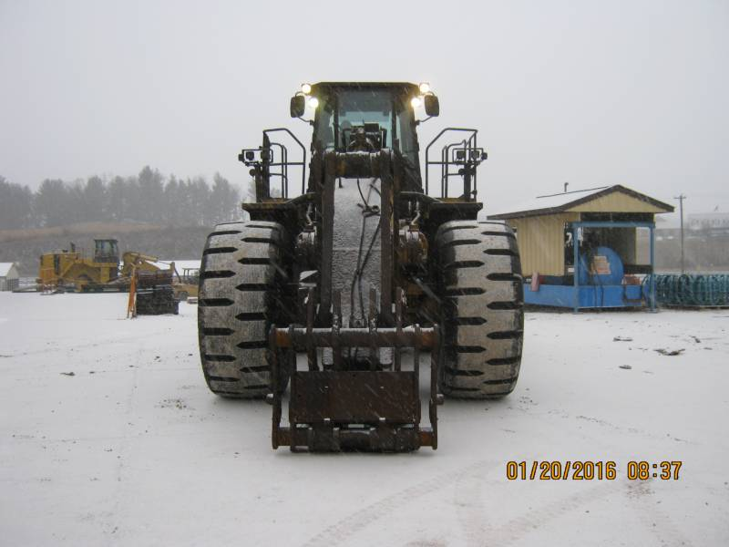 CATERPILLAR CHARGEURS SUR PNEUS MINES 988H equipment  photo 6