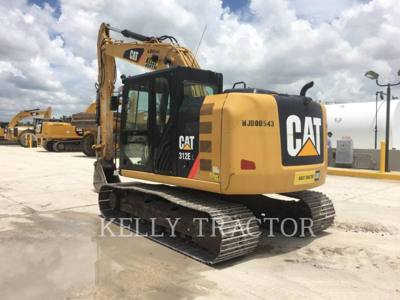 CATERPILLAR TRACK EXCAVATORS 312EL equipment  photo 3
