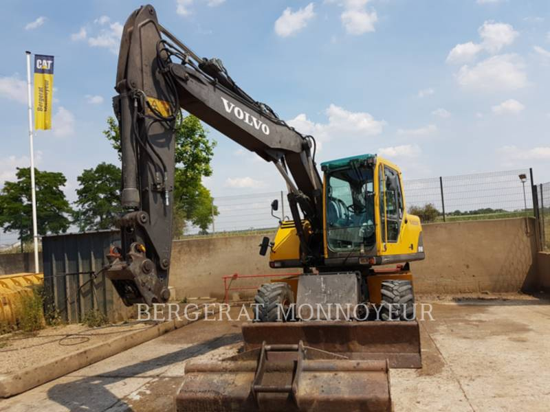 VOLVO CONSTRUCTION EQUIPMENT ホイール油圧ショベル EW140B equipment  photo 3