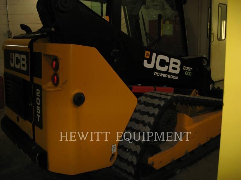 JCB MINICARGADORAS 205T equipment  photo 3