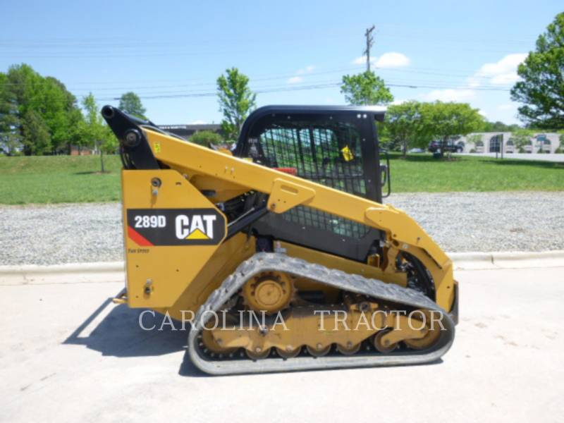 CATERPILLAR TRACK LOADERS 289D CB equipment  photo 1
