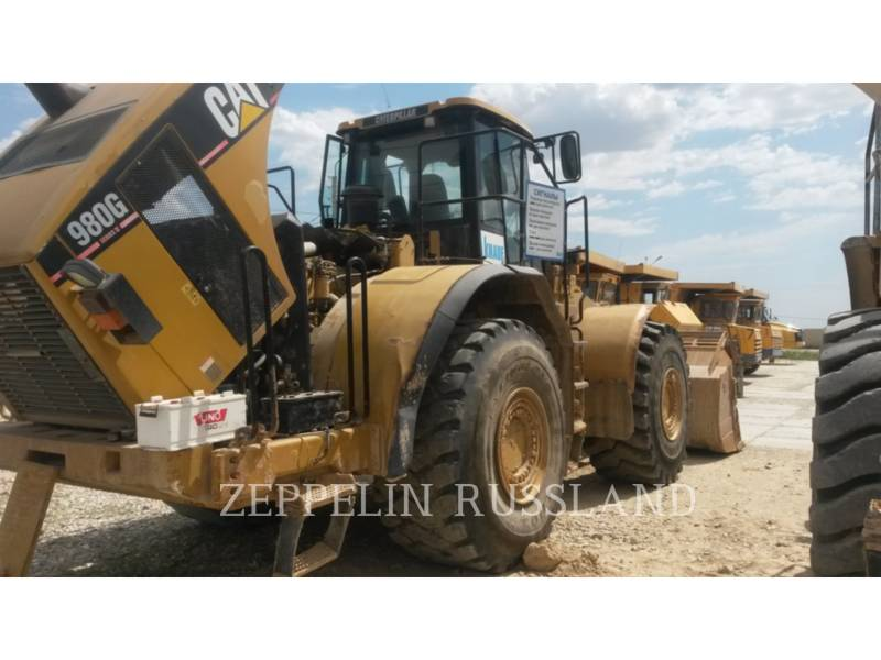 CATERPILLAR CHARGEURS SUR PNEUS MINES 980GII equipment  photo 5