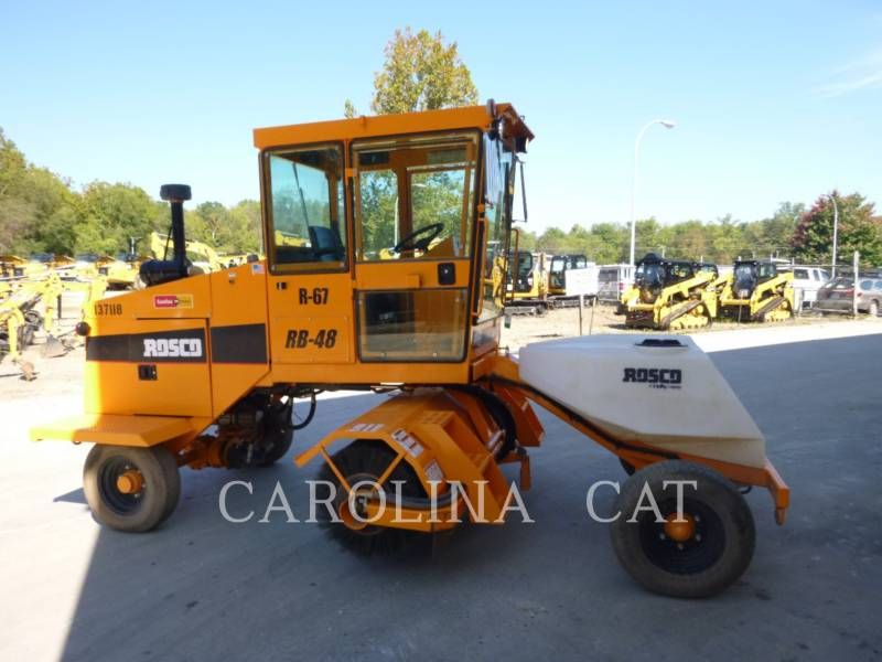 ROSCO ASPHALT PAVERS RB48 equipment  photo 2