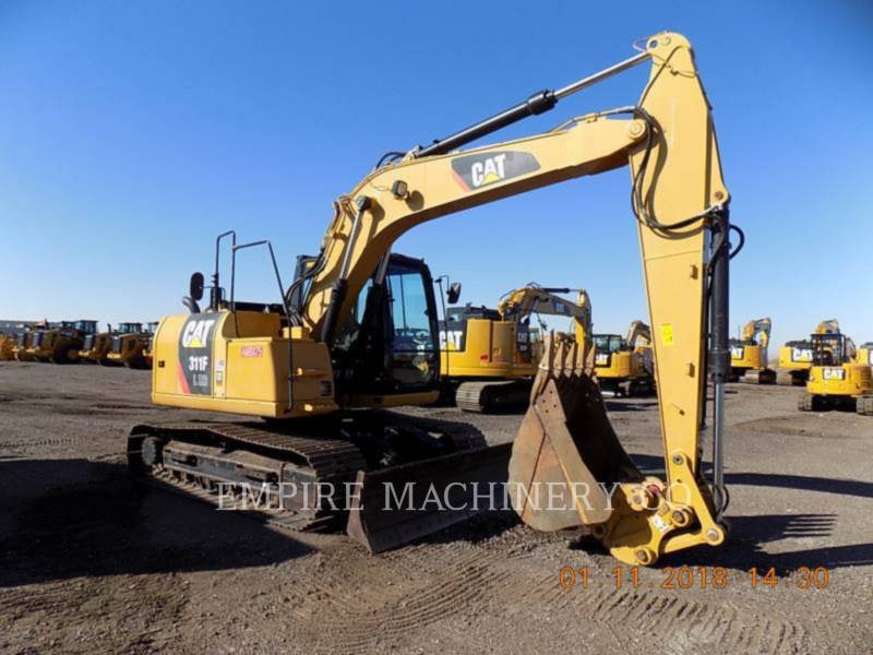 CATERPILLAR KETTEN-HYDRAULIKBAGGER 311F LRR equipment  photo 1