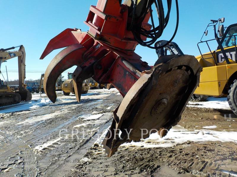 CATERPILLAR FORESTRY - FELLER BUNCHERS - TRACK 521B equipment  photo 21