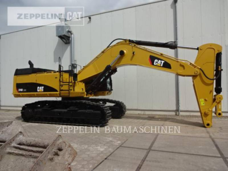 CATERPILLAR TRACK EXCAVATORS 374DL equipment  photo 8