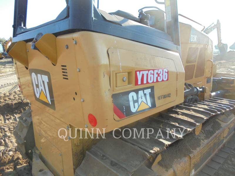 CATERPILLAR TRACK TYPE TRACTORS D3K2XL equipment  photo 6