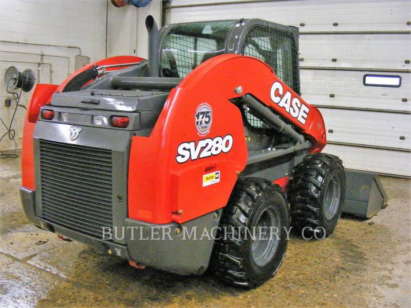 CASE/NEW HOLLAND MINICARGADORAS SV280 equipment  photo 4