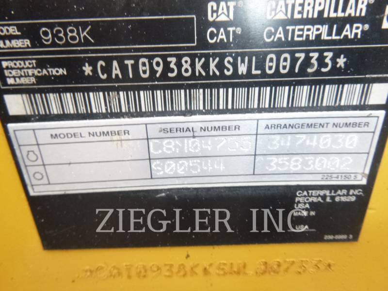 CATERPILLAR RADLADER/INDUSTRIE-RADLADER 938K equipment  photo 6