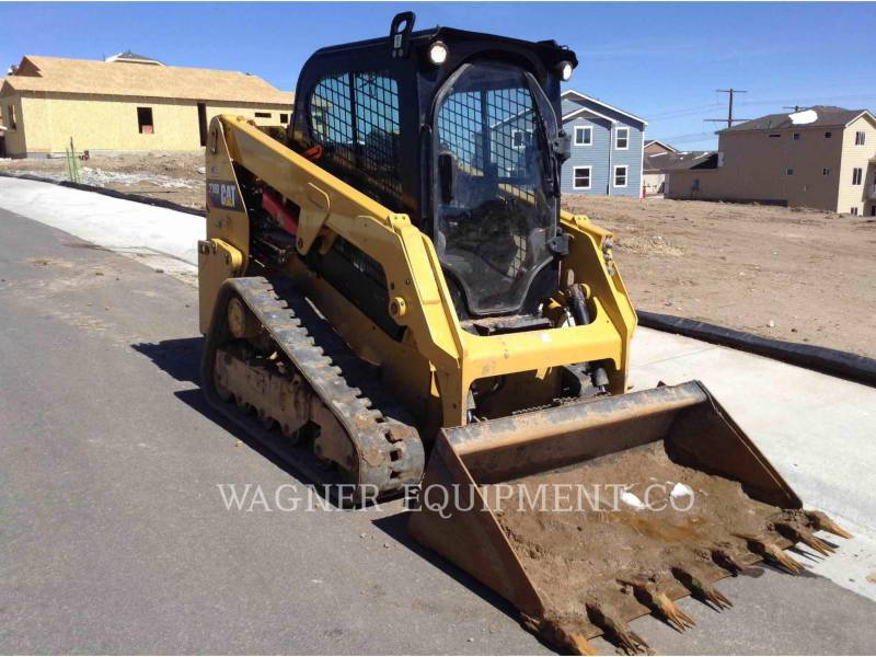 CATERPILLAR DELTALADER 239D equipment  photo 2