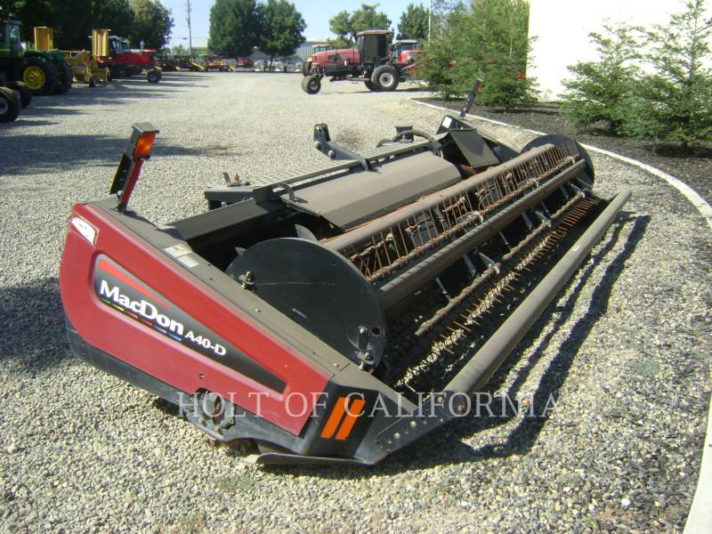 MACDON AG WINDROWERS M205  GMH1099 equipment  photo 10