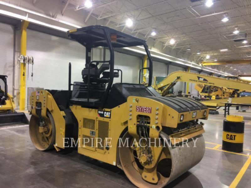 CATERPILLAR VIBRATORY DOUBLE DRUM ASPHALT CB44B equipment  photo 1