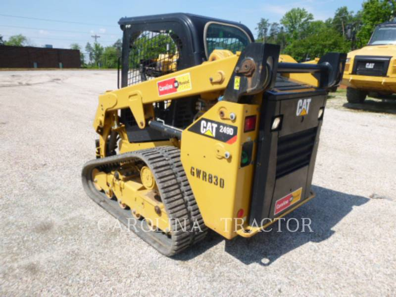 CATERPILLAR TRACK LOADERS 249D equipment  photo 6