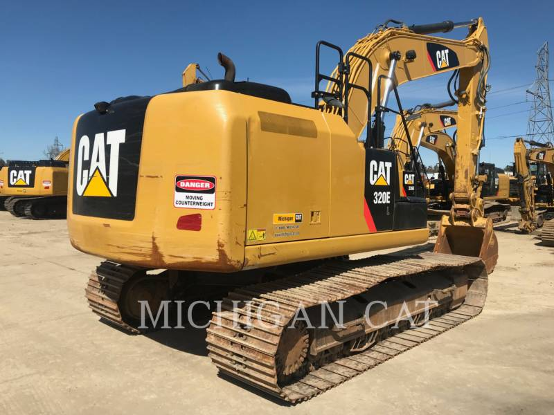 CATERPILLAR KETTEN-HYDRAULIKBAGGER 320EL PQ equipment  photo 15