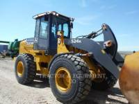 Equipment photo JOHN DEERE 524K WHEEL LOADERS/INTEGRATED TOOLCARRIERS 1
