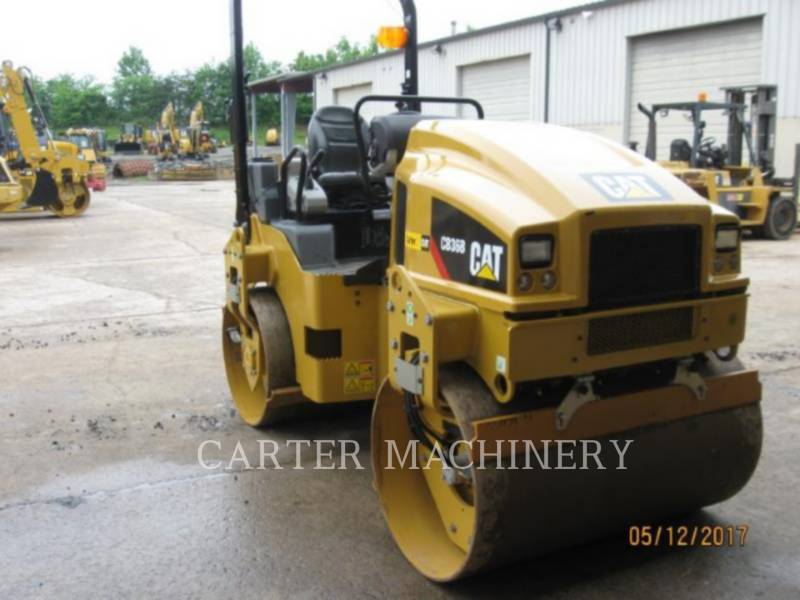 CATERPILLAR TANDEMVIBRATIONSWALZE, ASPHALT CB36B equipment  photo 1