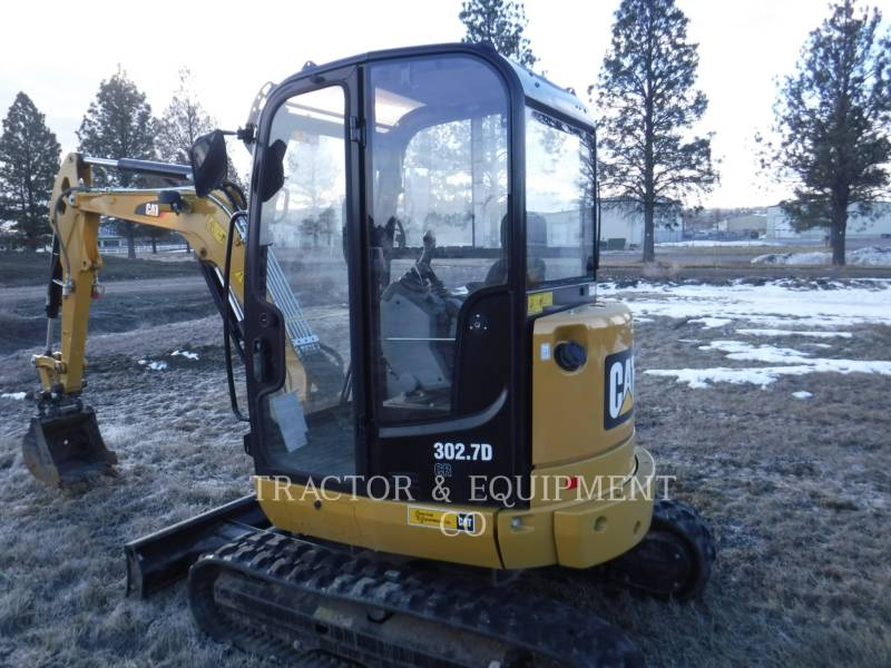 CATERPILLAR EXCAVADORAS DE CADENAS 302.7DCRCB equipment  photo 2