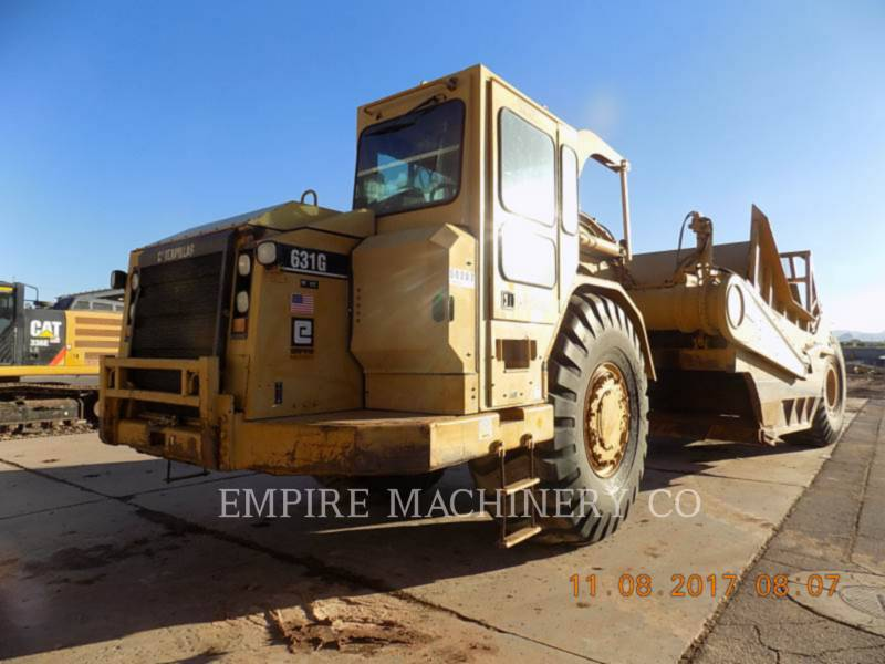 CATERPILLAR TRATOR-ESCRÊIPER DE RODAS 631G equipment  photo 1