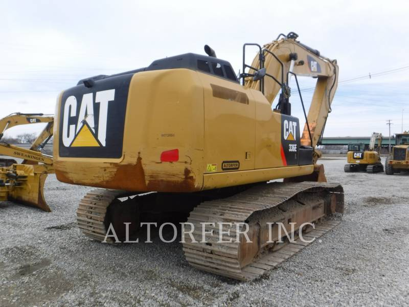 CATERPILLAR ESCAVATORI CINGOLATI 336EL equipment  photo 6
