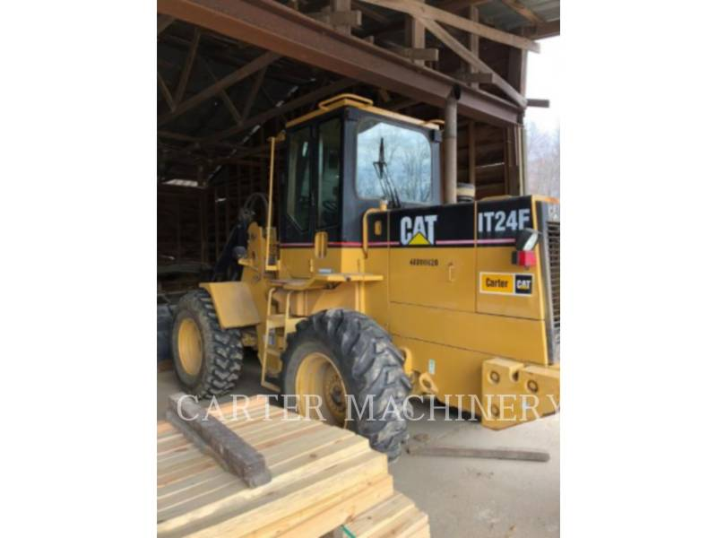 CATERPILLAR CHARGEURS SUR PNEUS/CHARGEURS INDUSTRIELS IT24F equipment  photo 3