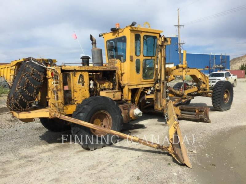 CATERPILLAR MOTORGRADER 14G equipment  photo 5