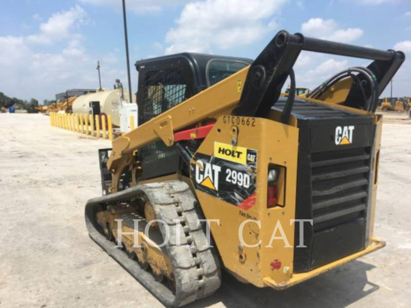 CATERPILLAR CARGADORES MULTITERRENO 299D equipment  photo 3