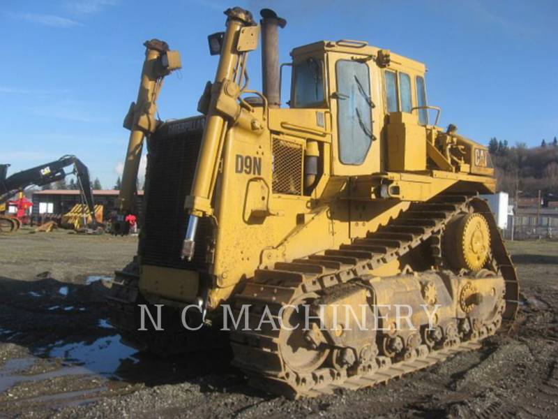 CATERPILLAR KETTENDOZER D9N equipment  photo 1