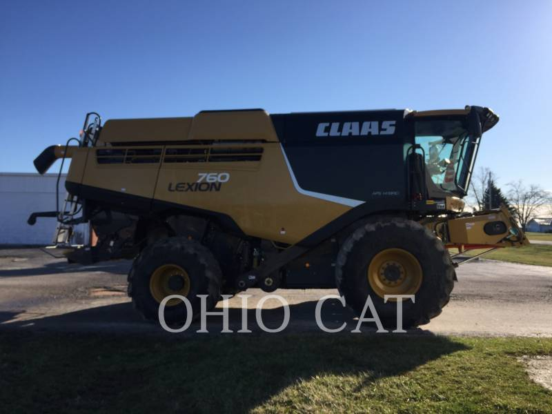 CLAAS OF AMERICA COMBINÉS LEX760 equipment  photo 6