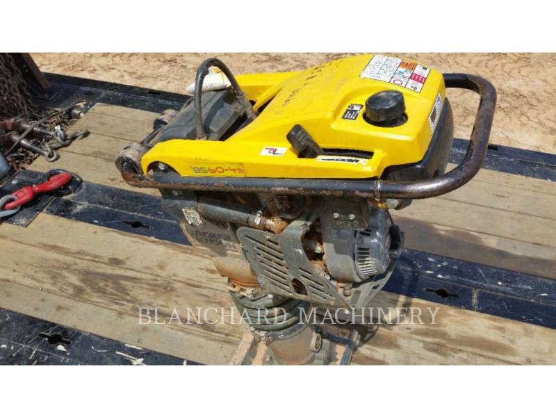 WACKER CORPORATION  VIBRATORY PLATE COMPACTOR TAMPJJBS60 equipment  photo 3