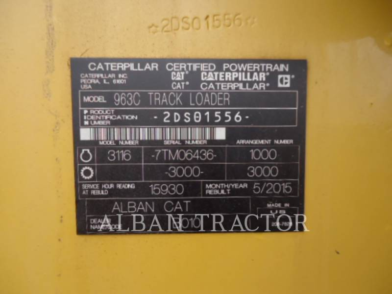 CATERPILLAR CARGADORES DE CADENAS 963CLGP equipment  photo 5
