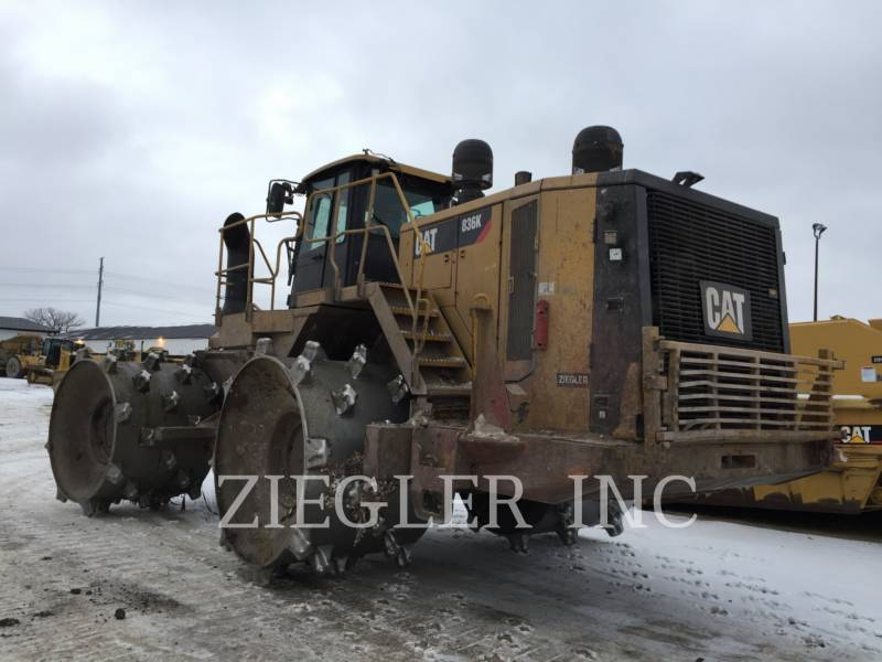 CATERPILLAR TRACTEURS SUR PNEUS 836K equipment  photo 5